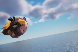 animost-monkey-cannon-11 - Unreal Engine - Vietnam Asian best 3D real time virtual production animation studio