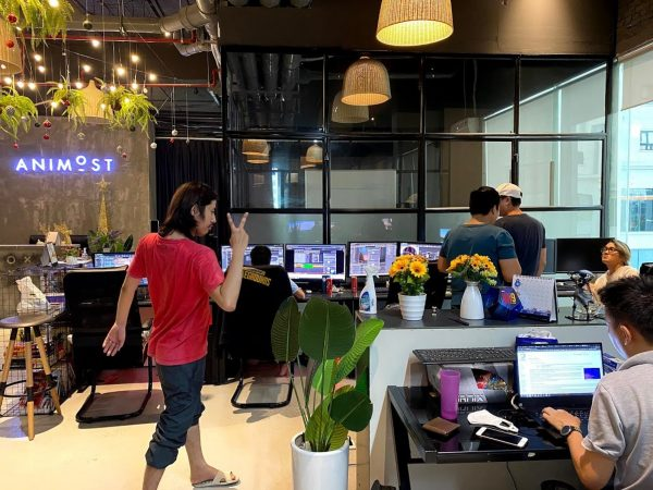 animost studio office - Unreal Engine - Vietnam Asian best 3D real time virtual production animation studio