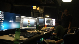 animost team working for animation series project - Unreal Engine - Vietnam Asian best 3D real time virtual production animation studio