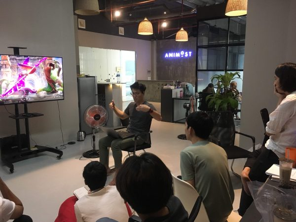 animost team building 11 - Unreal Engine - Vietnam Asian best 3D real time virtual production animation studio