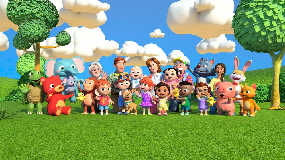 cocomelon all character - unreal engine simple concept 3d animation production-unreal engine real time virtual animation - Unreal Engine - Vietnam Asian best 3D real time virtual production animation studio